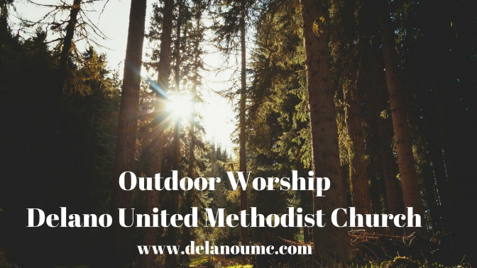Outdoor Worship July 8 & 16, 2018